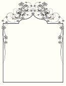 Baroque Floral Page
