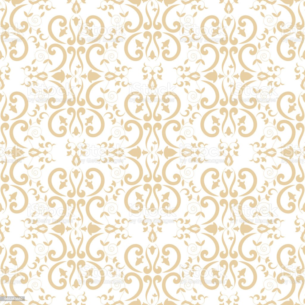Baroque floral pattern vector seamless. Damask luxury background texture. Vintage flower ornament design for wallpaper, fabric swatch, backdrop, curtain, package, furniture textile. baroque floral pattern vector seamless damask luxury background texture vintage flower ornament design for wallpaper fabric swatch backdrop curtain package furniture textile - stockowe grafiki wektorowe i więcej obrazów abstrakcja royalty-free