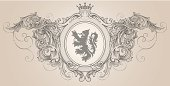 Designed by a hand engraver. Elaborate and highly detailed scrollwork engravings with lion coat of arms. Change color and scale easily with the enclosed EPS and AI files. Also includes hi-res JPG.