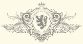 istock Baroque Nobility Coat of Arms 165738772