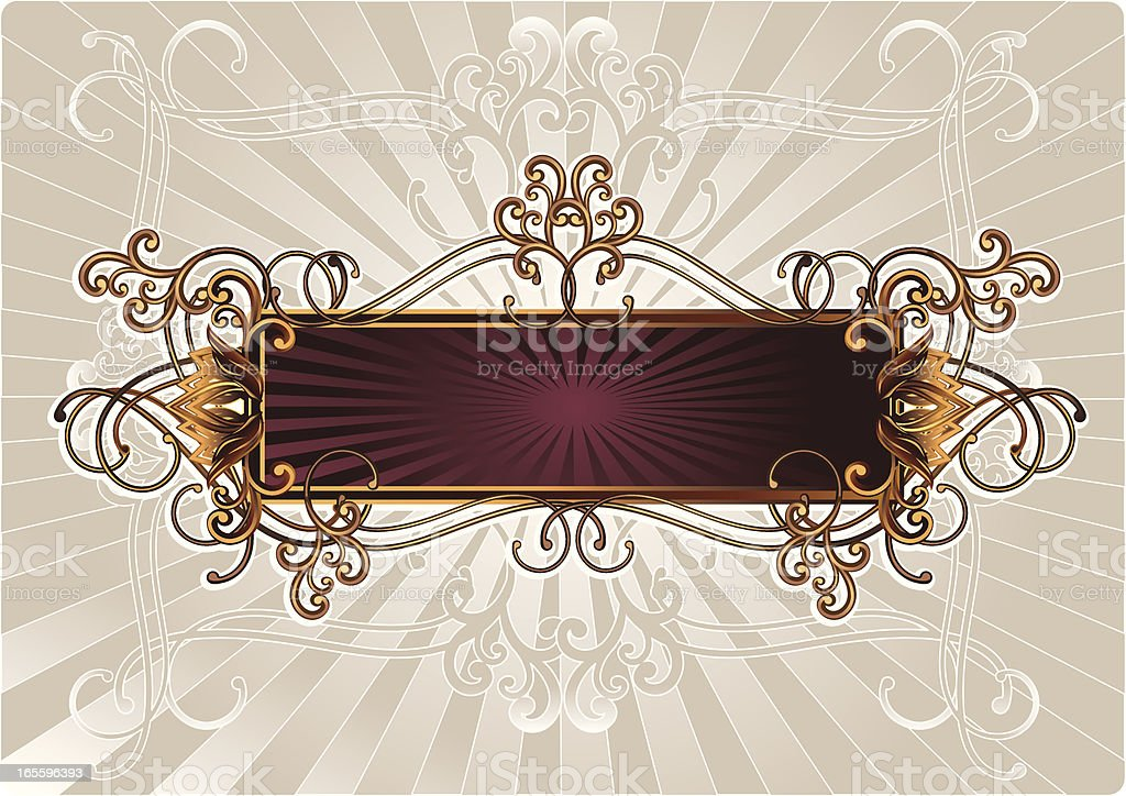 Barroco de etiqueta ilustração de barroco de etiqueta e mais banco de imagens de abstrato royalty-free