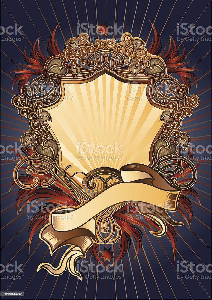 Baroque royalty-free stock vector art