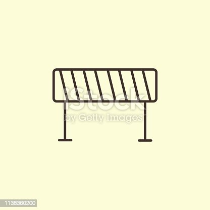 istock Barrier isolated 1138360200
