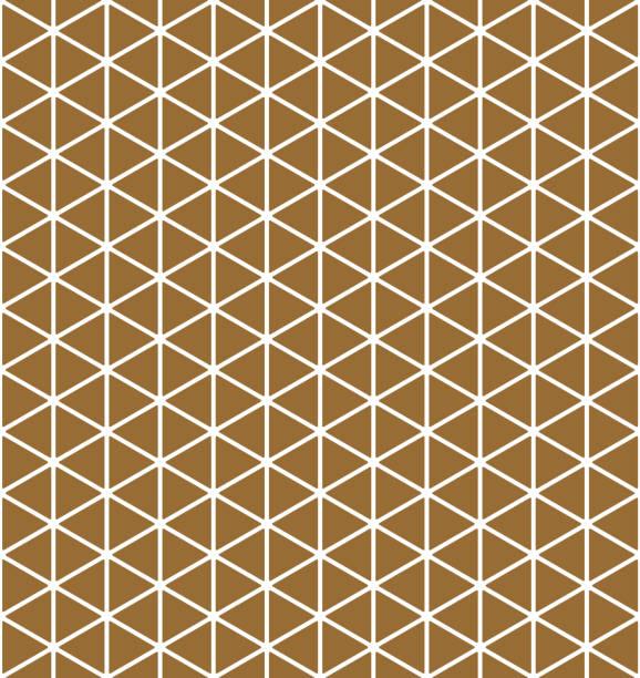 パターンのベースグリッド mitsukude 茶色の背景色。 - パターンや背景点のイラスト素材/クリップアート素材/マンガ素材/アイコン素材