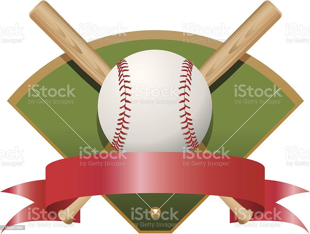 Baseball Award vector art illustration