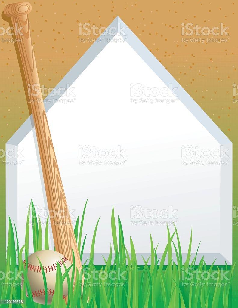 Baseball Background royalty-free baseball background stock vector art & more images of 1st base
