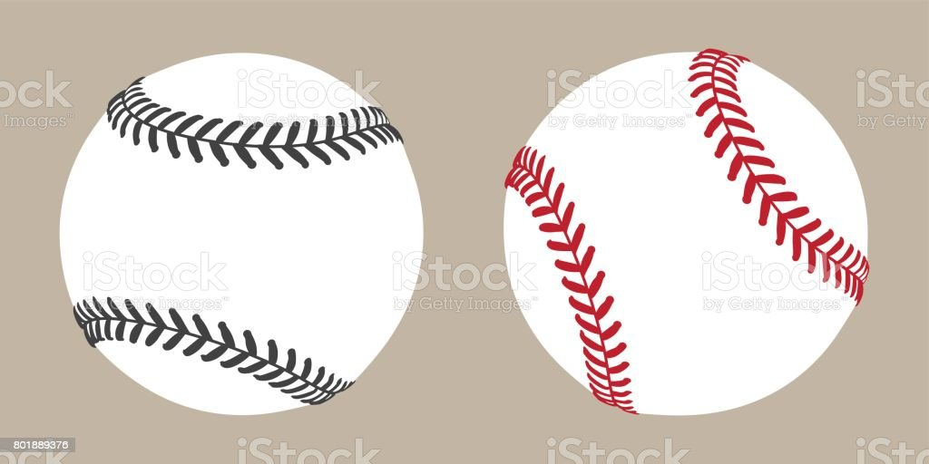 Baseball Ball icon Vector illustration