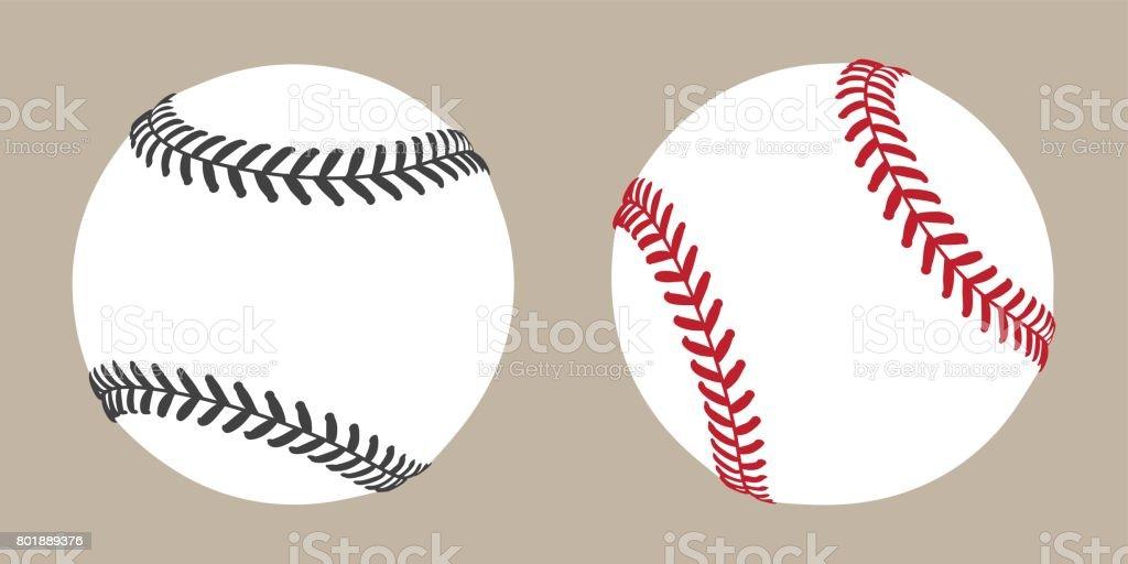 Baseball Ball icon Vector illustration vector art illustration