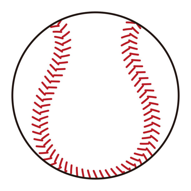 野球のボール イラスト ベクターアートイラスト