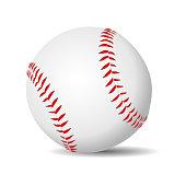 Baseball ball realistic
