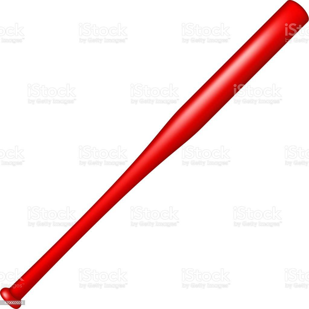 baseball bat in red design stock vector art more images of 2015 rh istockphoto com vector baseball batter free vector baseball bat