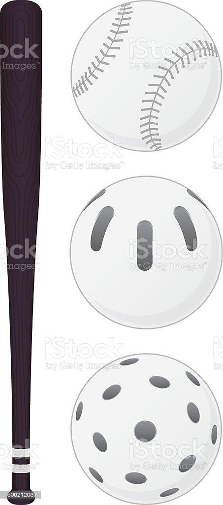 Baseball Bat royalty-free baseball bat stock vector art & more images of ball