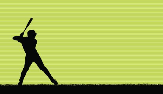 Baseball Batter All-Star Background