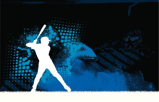 Baseball Batter Background Graphic