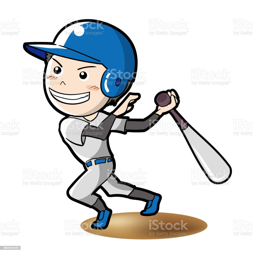 baseball batter pose stock vector art more images of adult rh istockphoto com Baseball Laces Vector Baseball Silhouette Vector