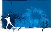 "Baseball Batter Team Sports Background. Graphic background illustration of a baseball batter. Check out my ""Baseball Summer Sport"" light box for more."