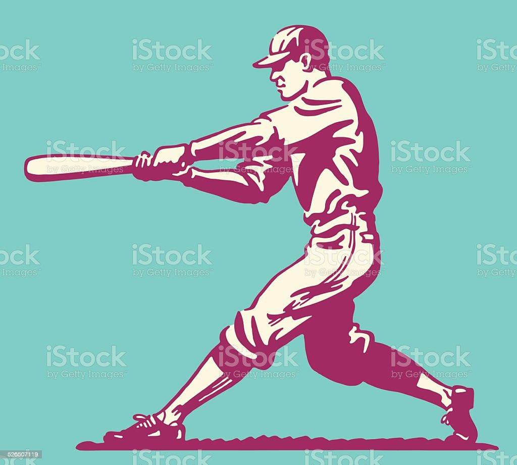 Pâte de Baseball - Illustration vectorielle