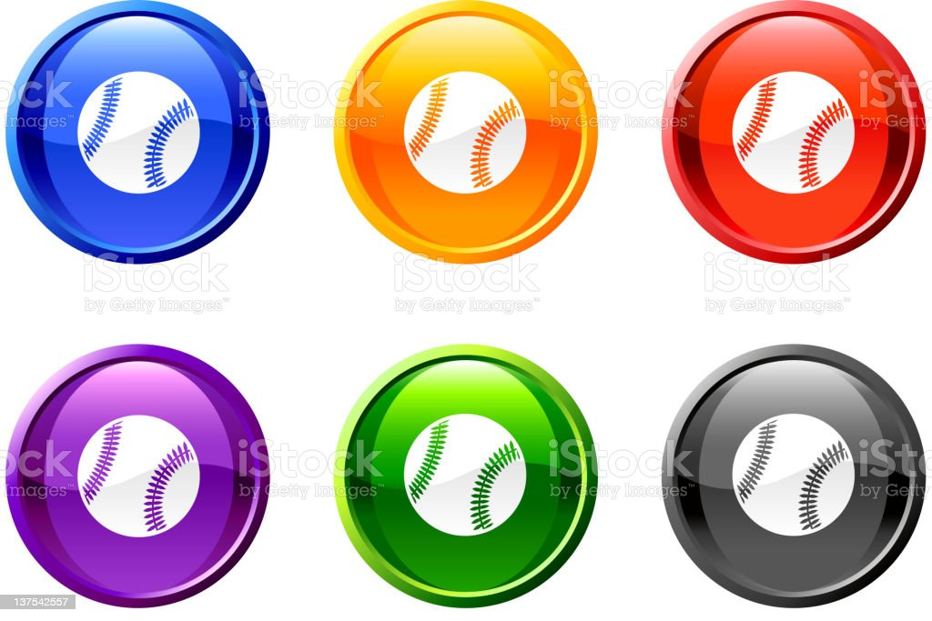 baseball button royalty free vector art royalty-free baseball button royalty free vector art stock vector art & more images of all star game