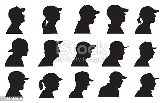 Baseball Cap Head Profiles