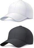 Vector illustration of a classic baseball cap.