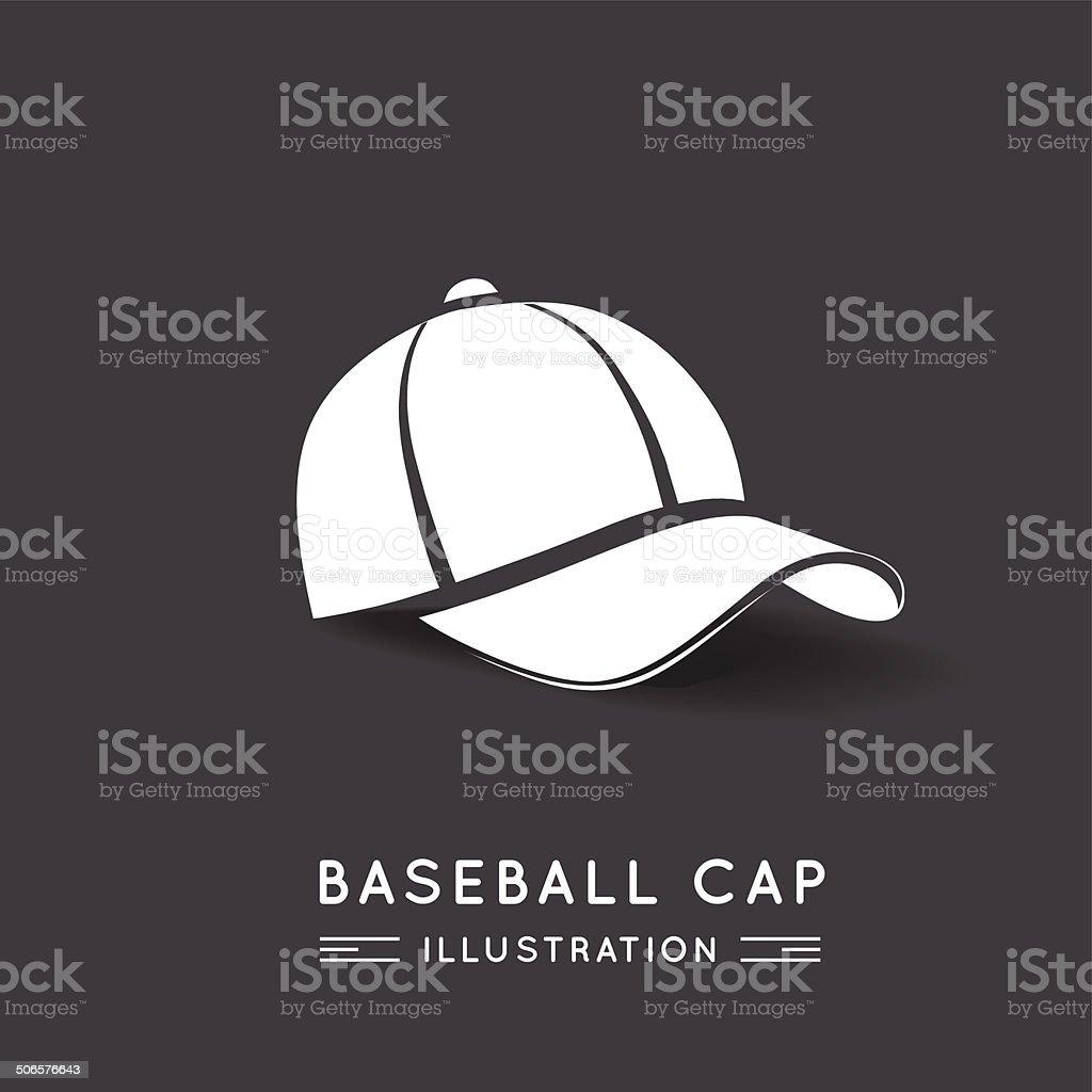 Baseball Cap vector art illustration