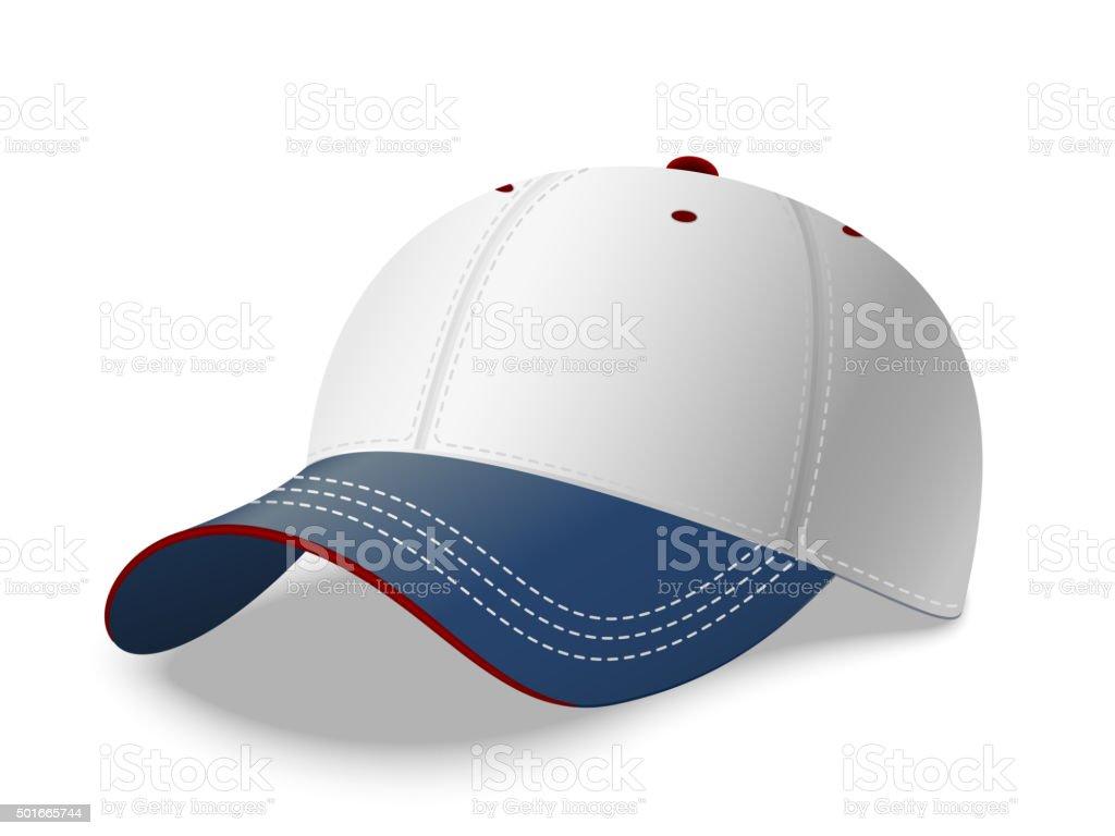 Cappellino da Baseball. Vettoriale cappellino da baseball vettoriale -  immagini vettoriali stock e altre immagini e854688a0c5b