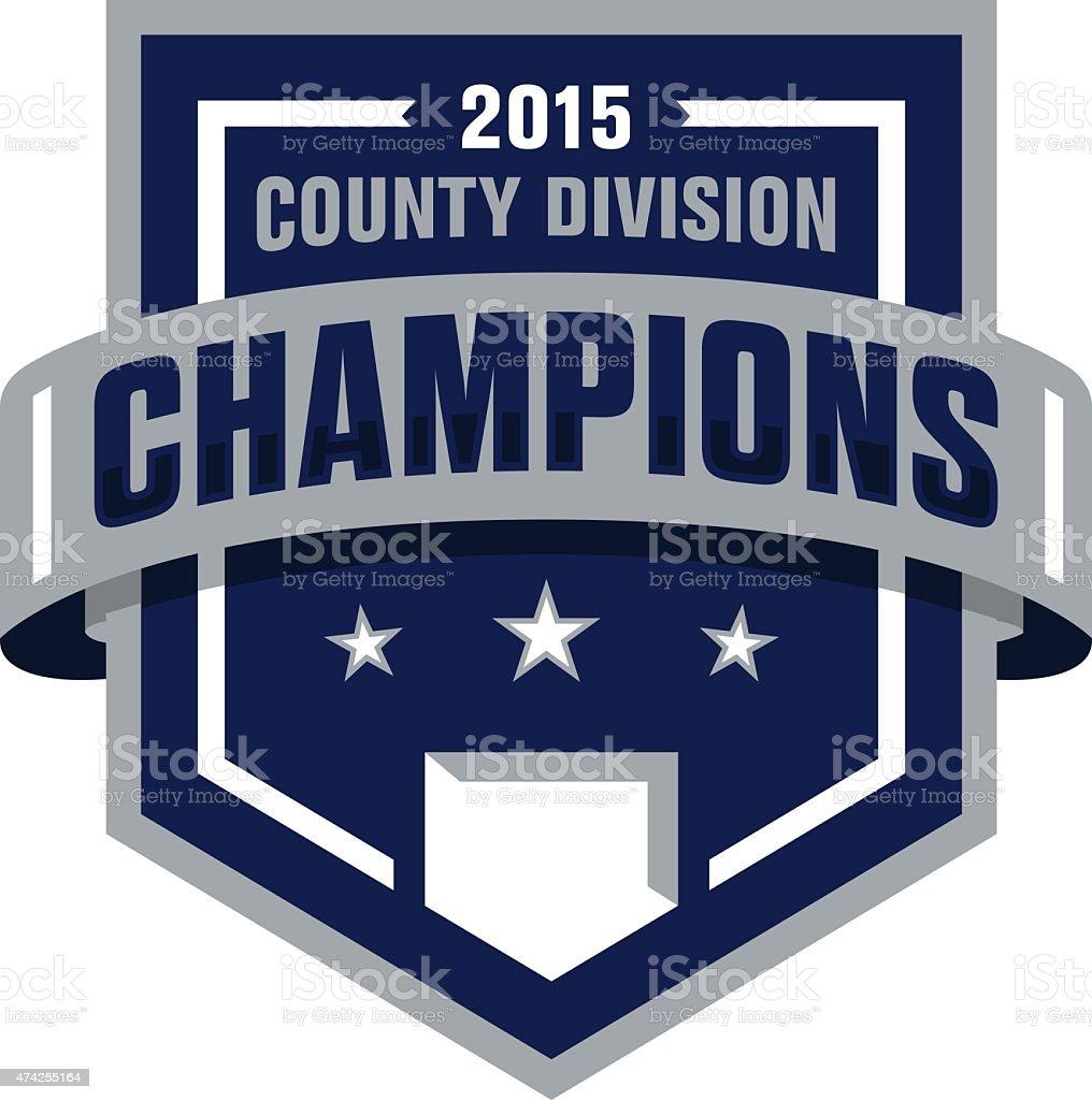 Baseball Champions-Symbol – Vektorgrafik