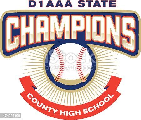 Baseball Champions Icon
