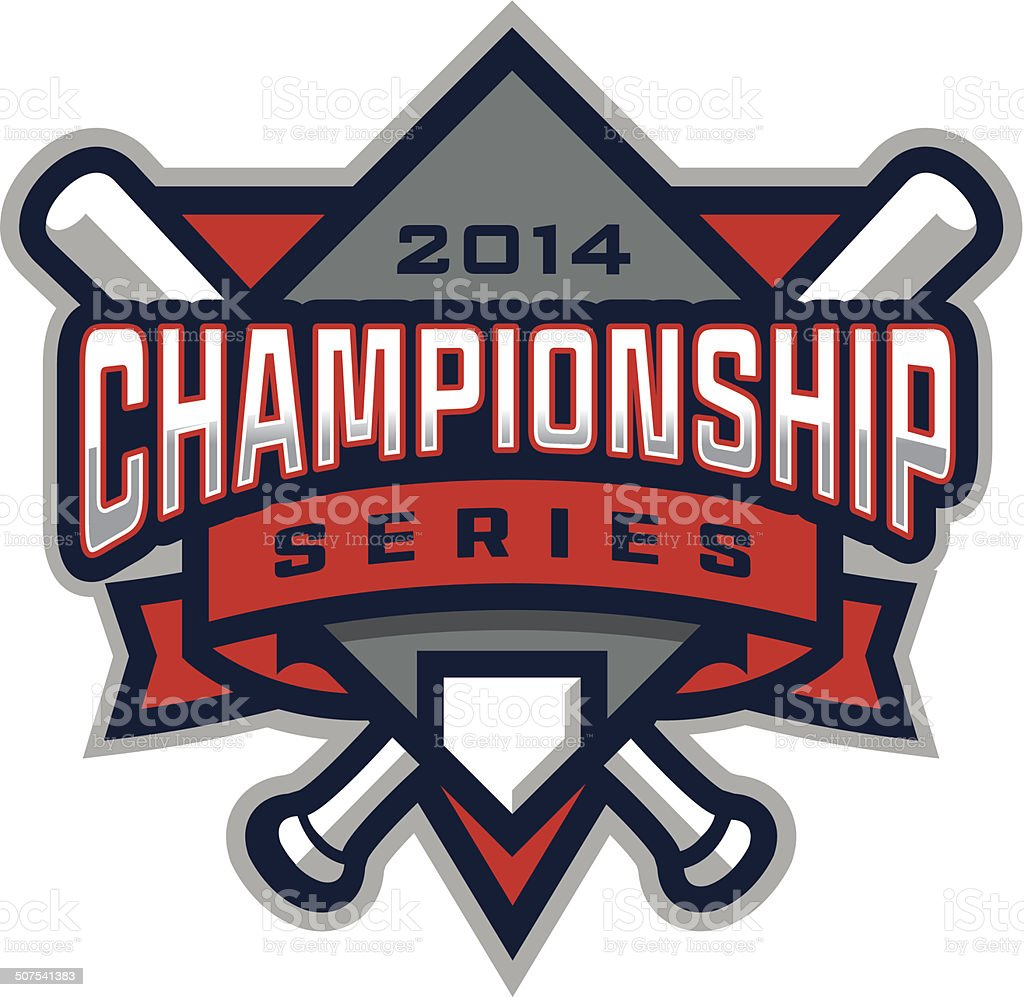 Baseball Championship Logo royalty-free baseball championship logo stock vector art & more images of banner - sign