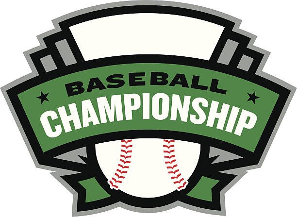 Baseball Championship Logo vector art illustration