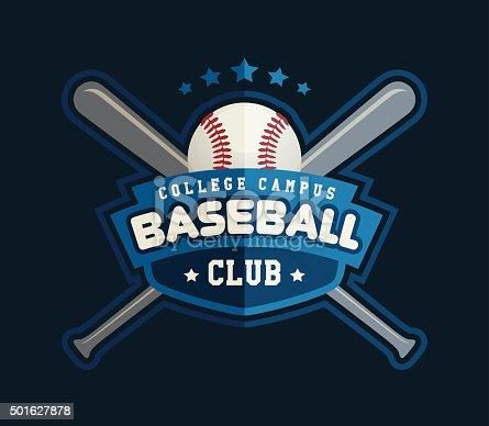 Baseball Club Logo Stock Vector Art & More Images of ...
