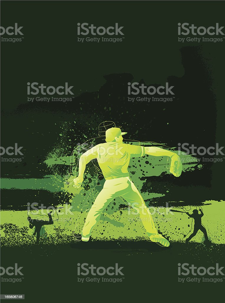 Baseball Design vector art illustration