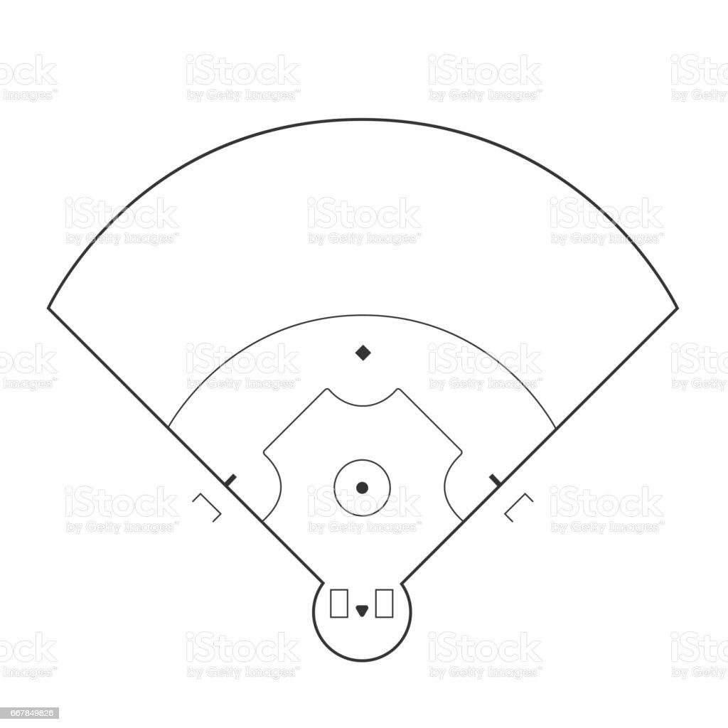 svg baseball field diagram baseball field illustration stock vector art & more images ... gravitational field diagram #4