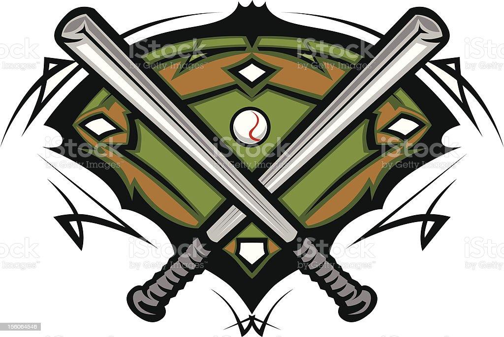 royalty free softball field clip art vector images illustrations rh istockphoto com