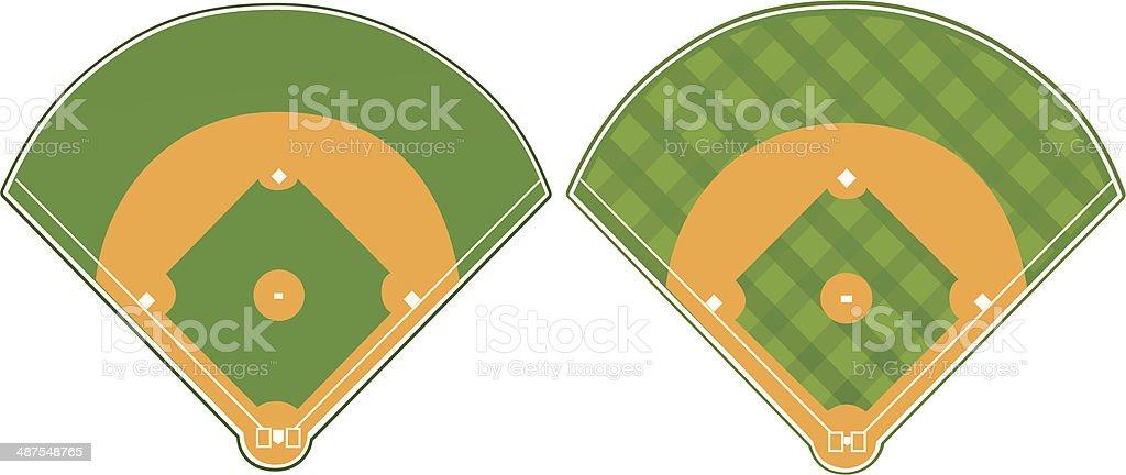 royalty free softball field clip art vector images illustrations rh istockphoto com softball field clipart free Baseball Field Diagram
