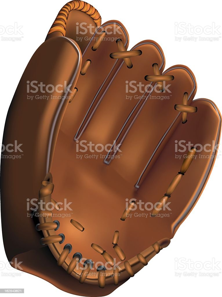 baseball glove royalty-free stock vector art
