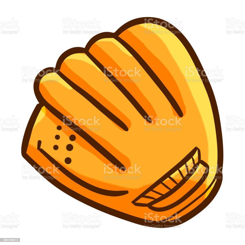 Baseball glove. royalty-free baseball glove stock illustration - download image now