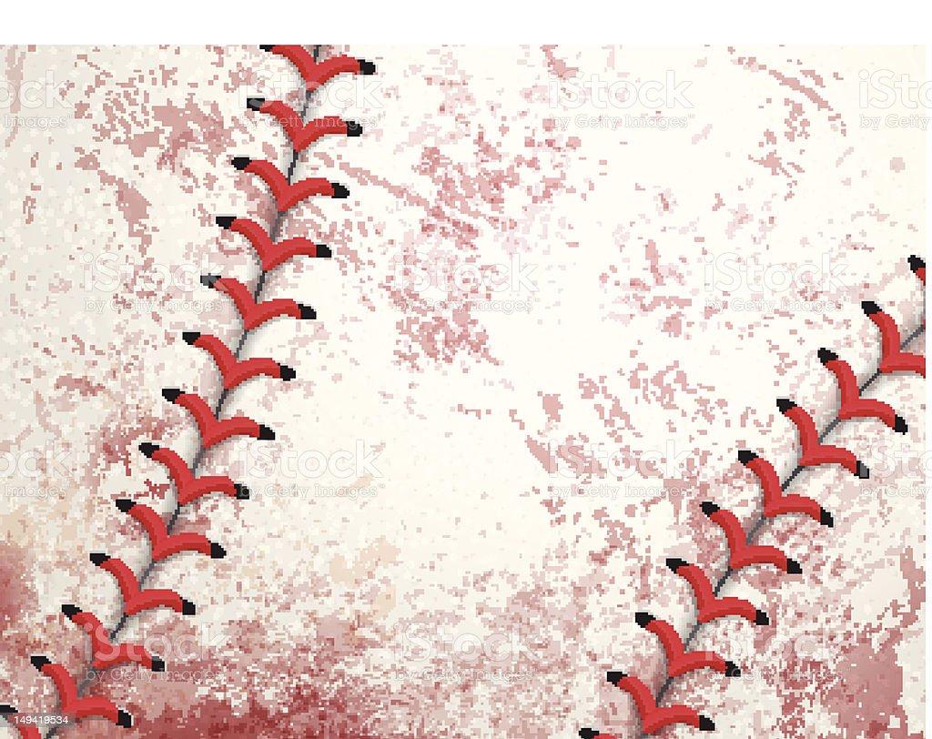 Baseball Grunge Background vector art illustration