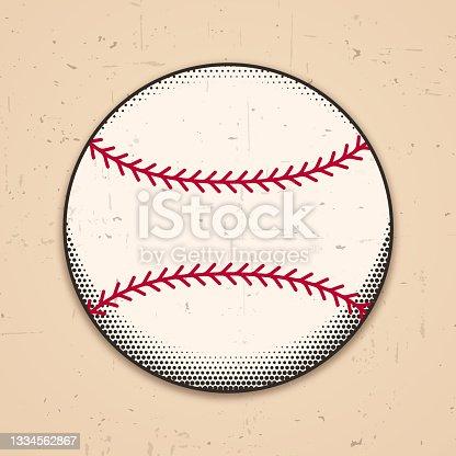 istock Baseball Grunge Symbol Design 1334562867