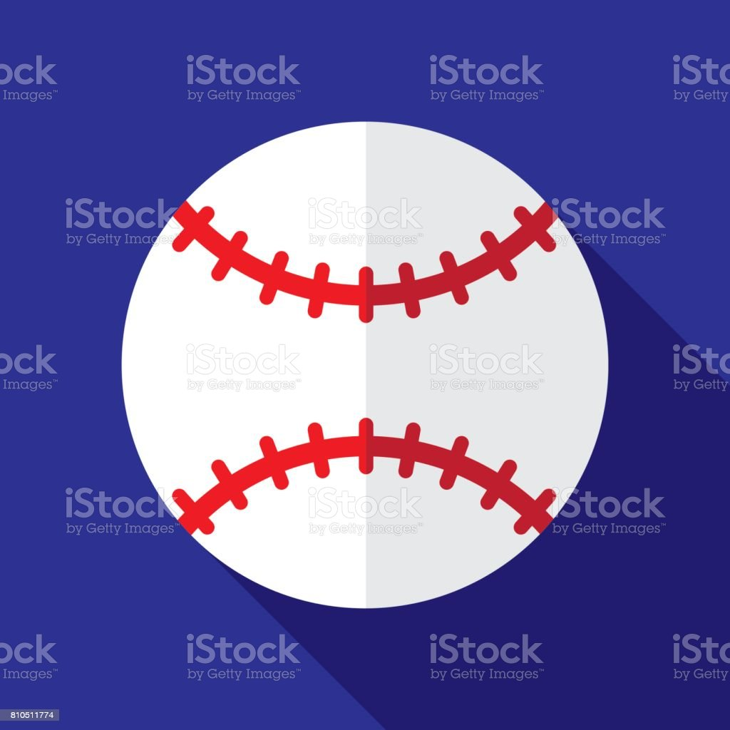 6709d13f78fe1 Baseball Icon Flat royalty-free baseball icon flat stock vector art  amp   more images
