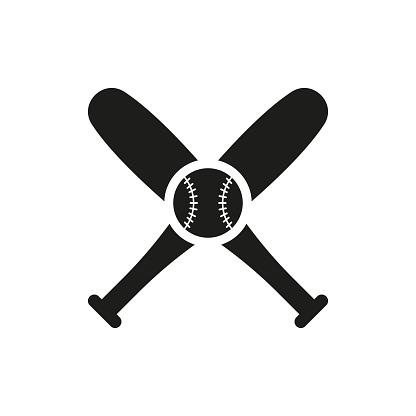 Icône De Baseball Dans Le Style Plat Isolé Sur Fond Blanc Pour La Conception De Votre Logo Illustration Vectorielle Vecteurs libres de droits et plus d'images vectorielles de Abstrait