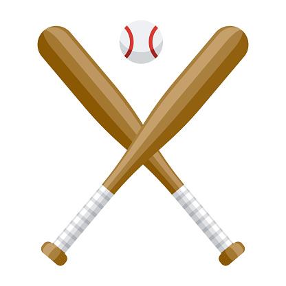 Baseball Icon on Transparent Background
