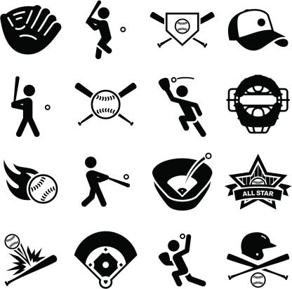 Baseball Icons - Black Series