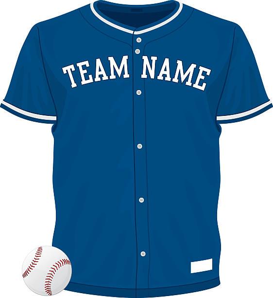 Baseball Jersey vector art illustration