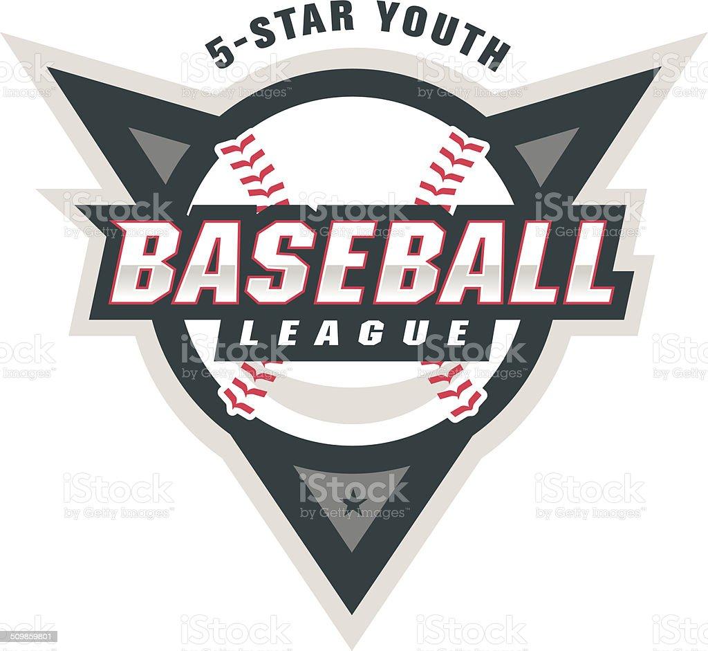 Baseball League Logo royalty-free baseball league logo stock vector art & more images of ball