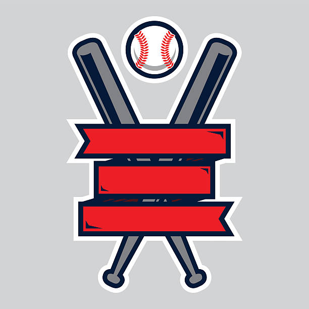 Baseball Logo vector art illustration