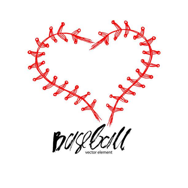Download Royalty Free Baseball Heart Clip Art, Vector Images ...