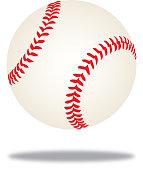 istock Baseball MidAir Shadow Icon 1145892385
