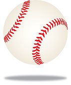 istock Baseball MidAir Shadow Icon 1145892385