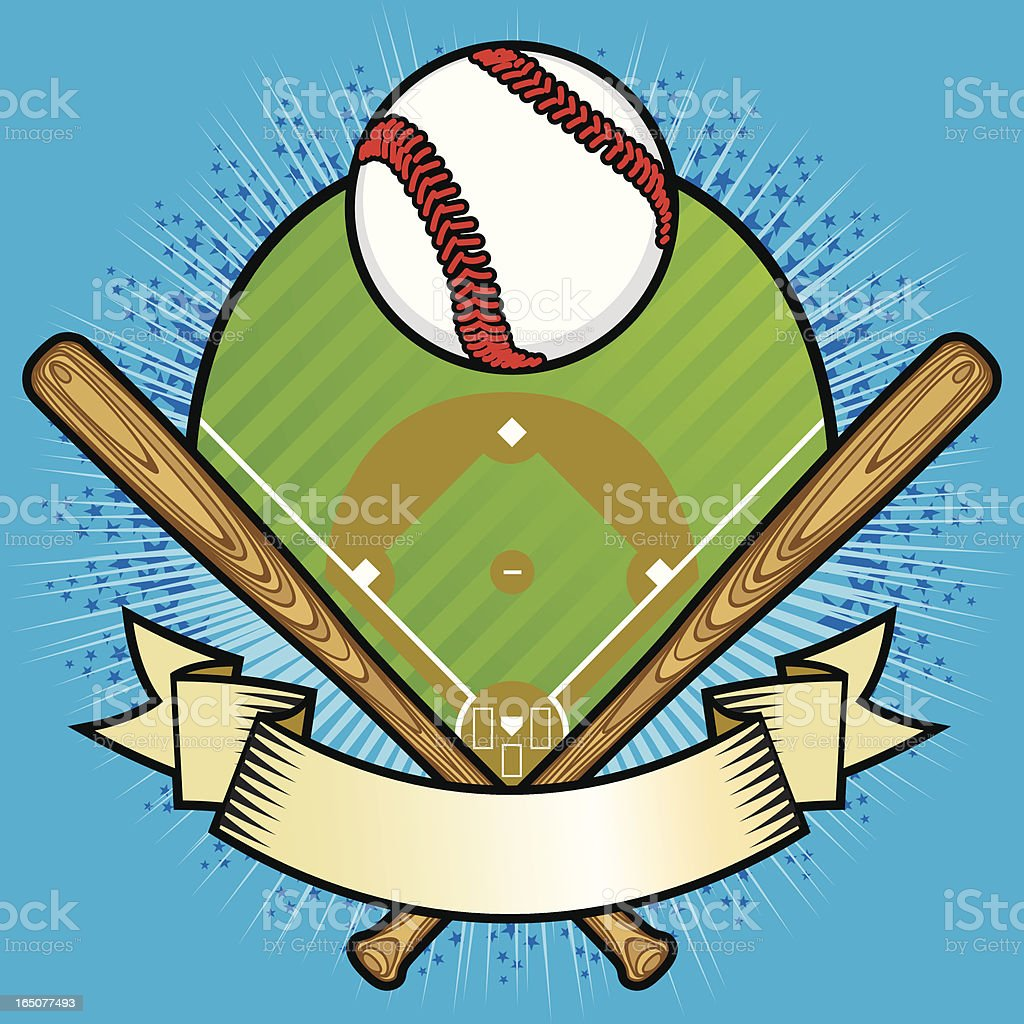 Baseball Package II royalty-free stock vector art